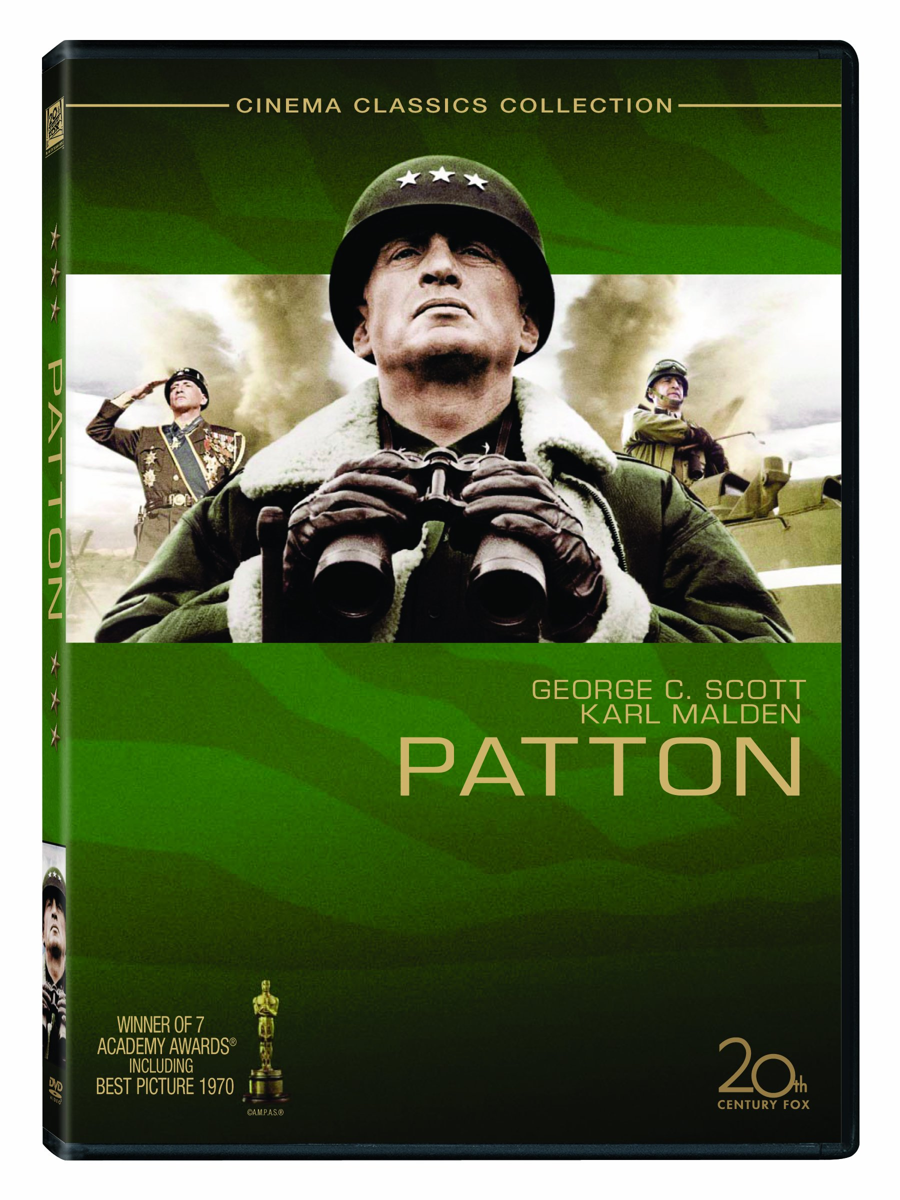 DVD : Patton (Special Edition, 2 Disc, Sensormatic)