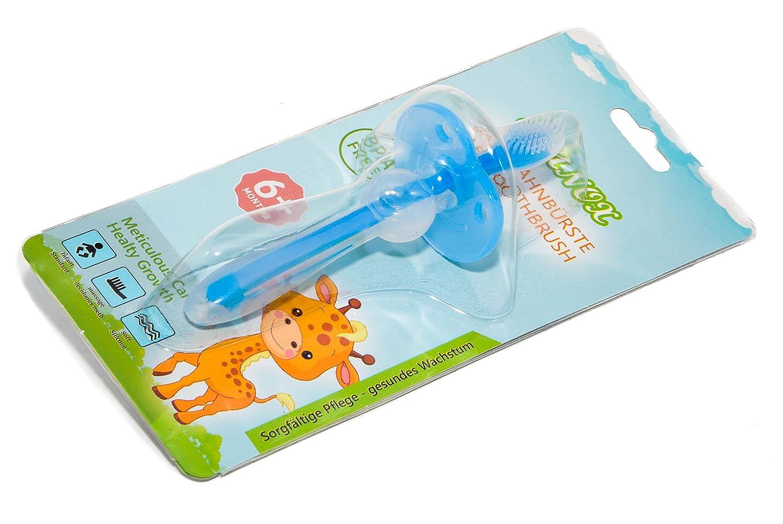 Baby Brosse à Dents en Silicone pour un nettoyage en profondeur et gencives Massage Elanox Baby