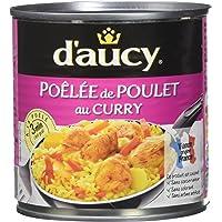 d'aucy Poêlée de Poulet au Curry 290 g