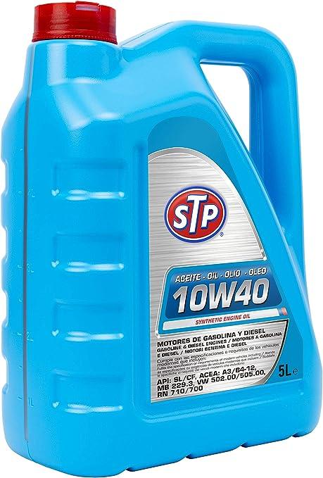 STP 10W40 - Aceite para motores Gasolina y Diesel (API: SL/CF ...