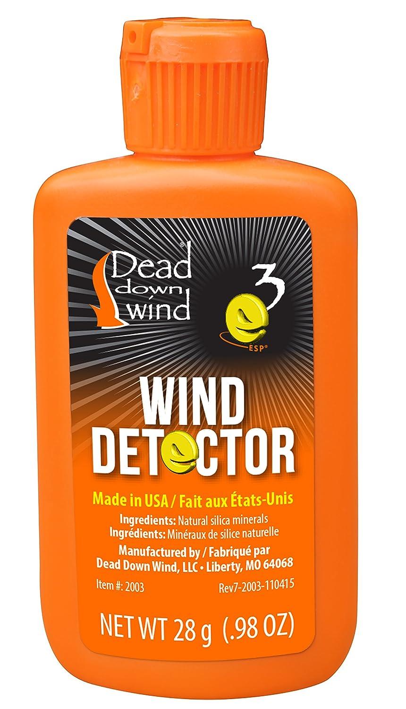 Detector de Viento Muerto Dead Down Wind 2003BC