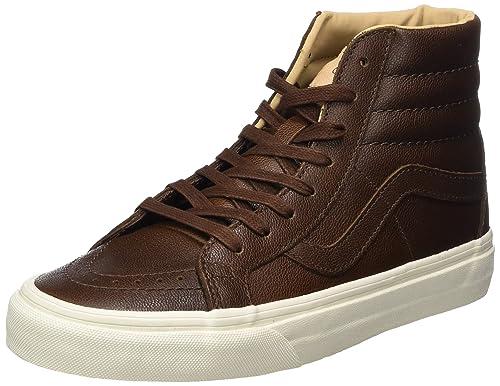 Vans Unisex-Erwachsene Sk8-Hi Reissue Leather Sneaker
