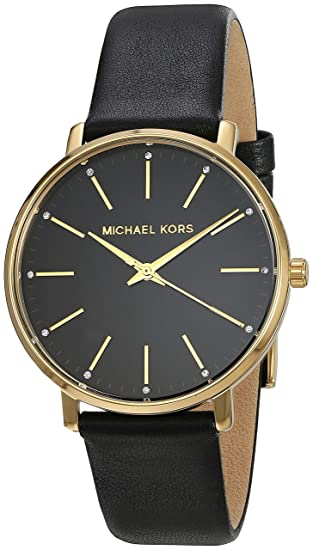 12dfaea4a511 Buy Michael Kors Pyper Analog Black Dial Women s Watch - MK2747 Online at  Low Prices in India - Amazon.in