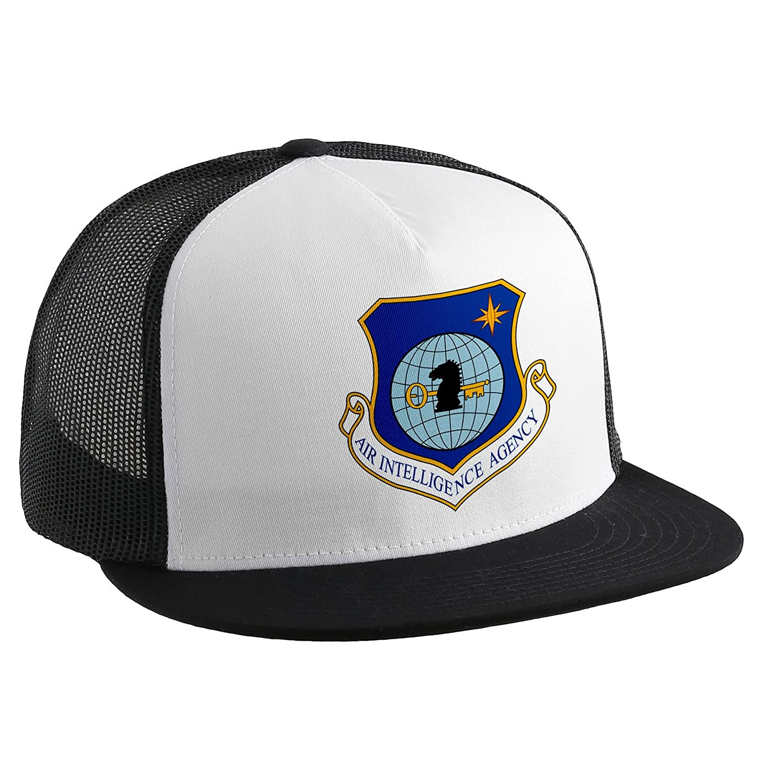 Trucker Hat with Air Intelligence Agency obsoleteエンブレム   B00V1N3XI6