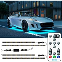 Govee Exterior Car LED Lights, RGB Underglow Car Lights with Remote Control, 32 Colors… photo