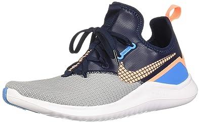 26dee6772 Nike Women's Free TR 8 NEO Training Shoes Wolf Grey/Orange Pulse-Blue 7