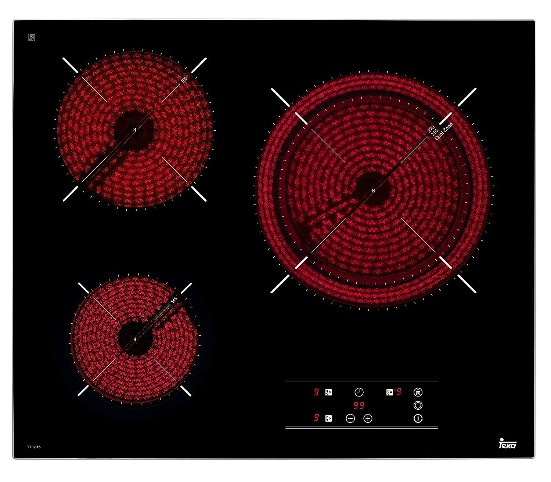 TEKA TT6315 Placa encimera, Vitrocerámica: 183.99: Amazon.es ...