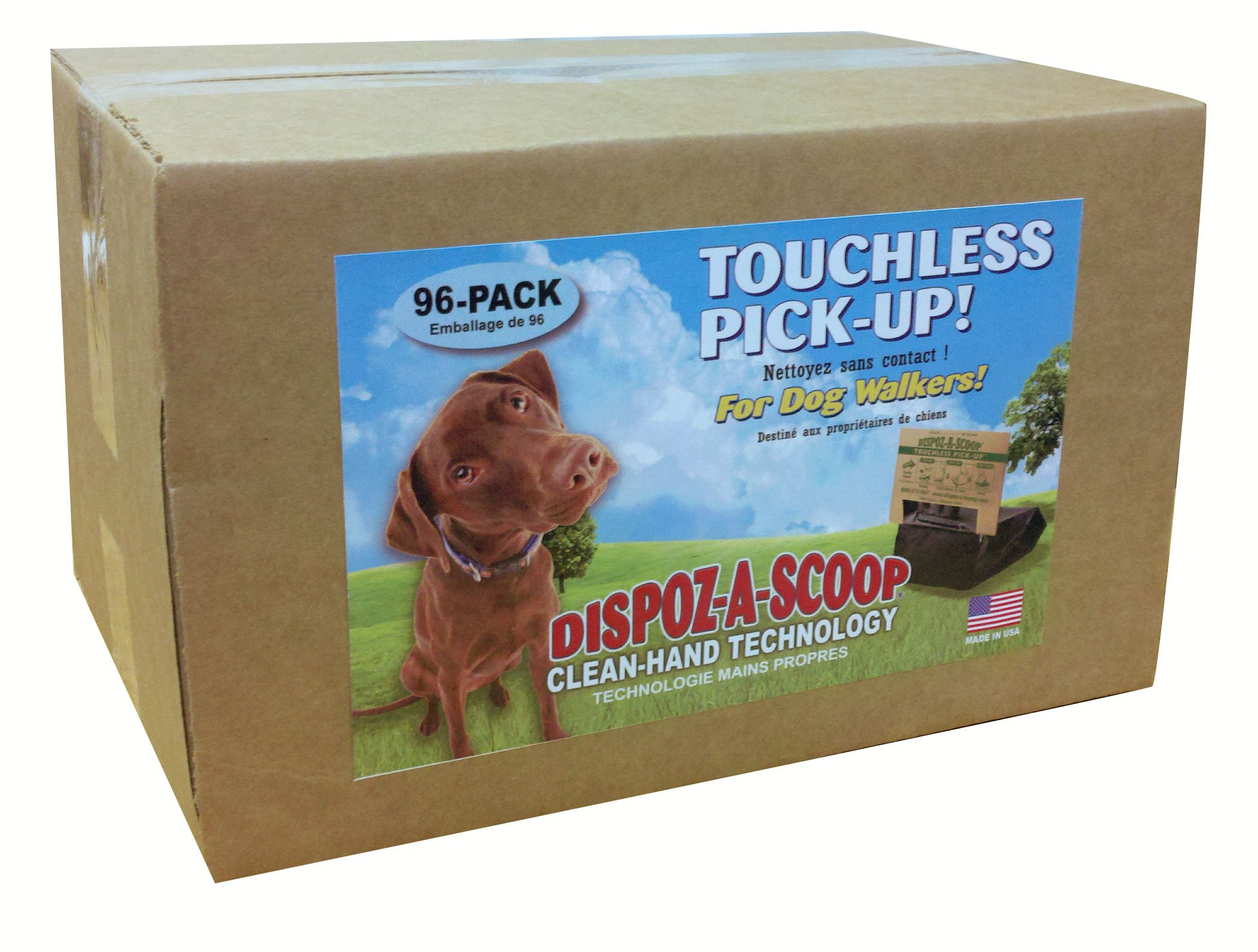 HealthPro Dispoz-A-Scoops for Dogs - 96 pack by Dispoz-A-Scoop