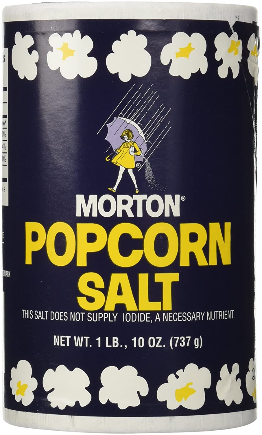 1Lb 10oz Morton Popcorn Salt For Green Salad, Corn on the Cob, French Fries, Nuts : Grocery & Gourmet Food