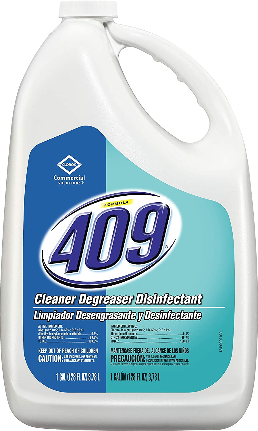 Formula 409 Cleaner Degreaser Disinfectant, Refill, 128 Ounces (35300)