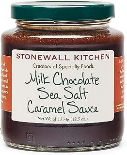product image for Stonewall Kitchen Milk Chocolate Sea Salt Caramel Sauce, 12.5 oz