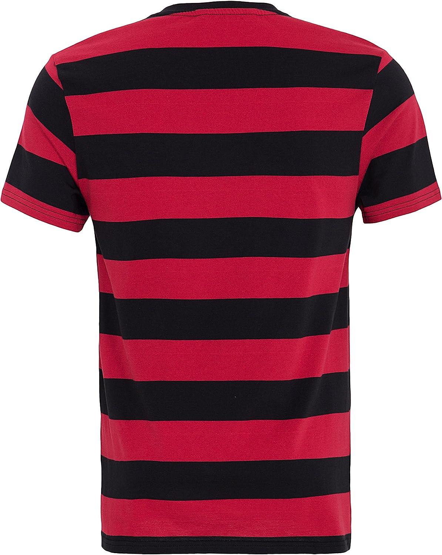 King Kerosin Streifenjersey T-Shirt Homme