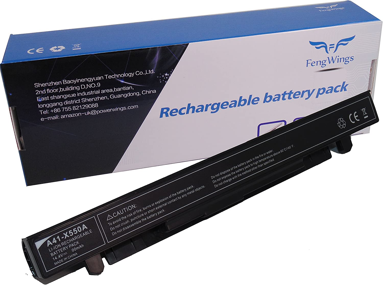 14.4 V 2600 mAh A41 de X550 A Reemplace la batería del portátil ...