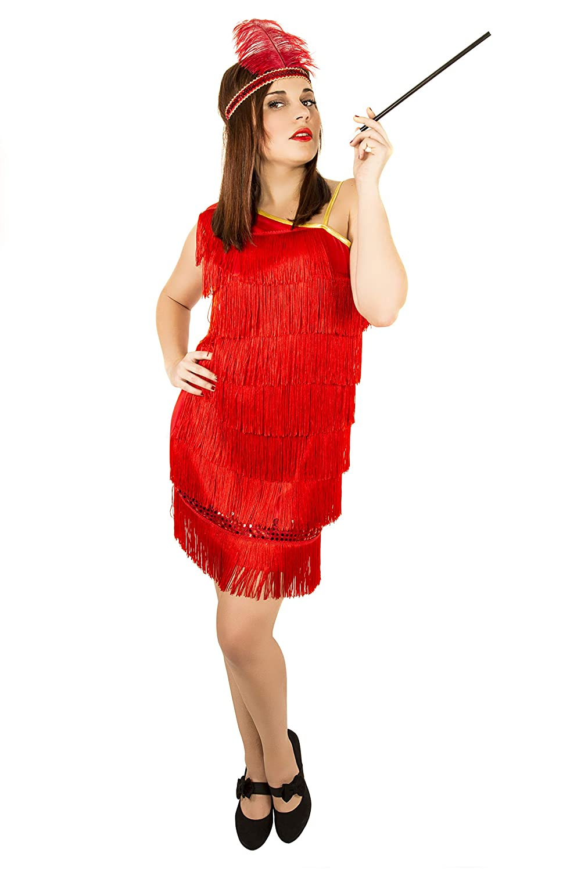 Costumizate! Disfraz de Charleston para Mujer Adulta Especial para ...