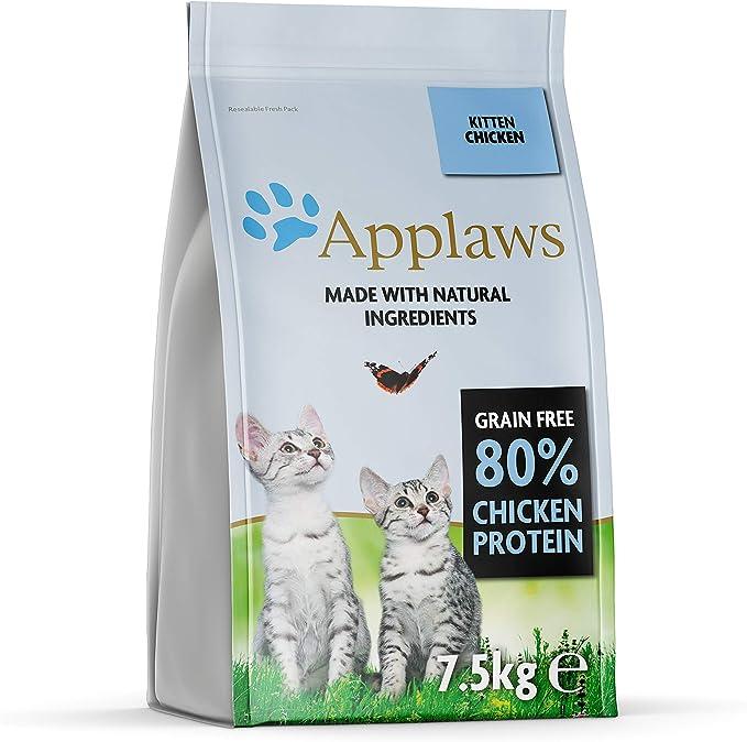 Applaws Comida Seca para Gatos, 1 Unidad (1 x 7,5 kg)