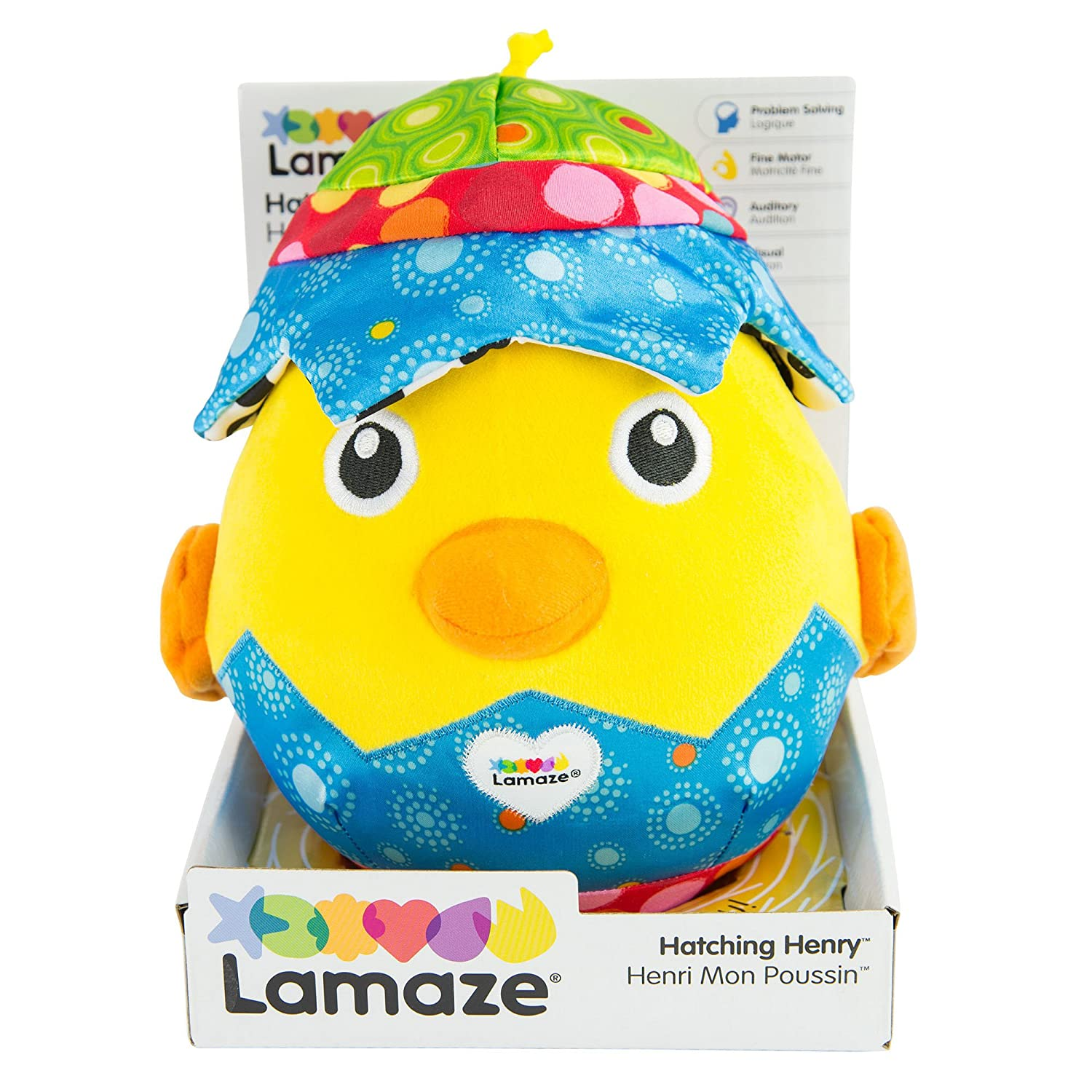 Lamaze Hatching Henry Musical Toys Baby//Kids//Toddler Development Game w 5 Sounds