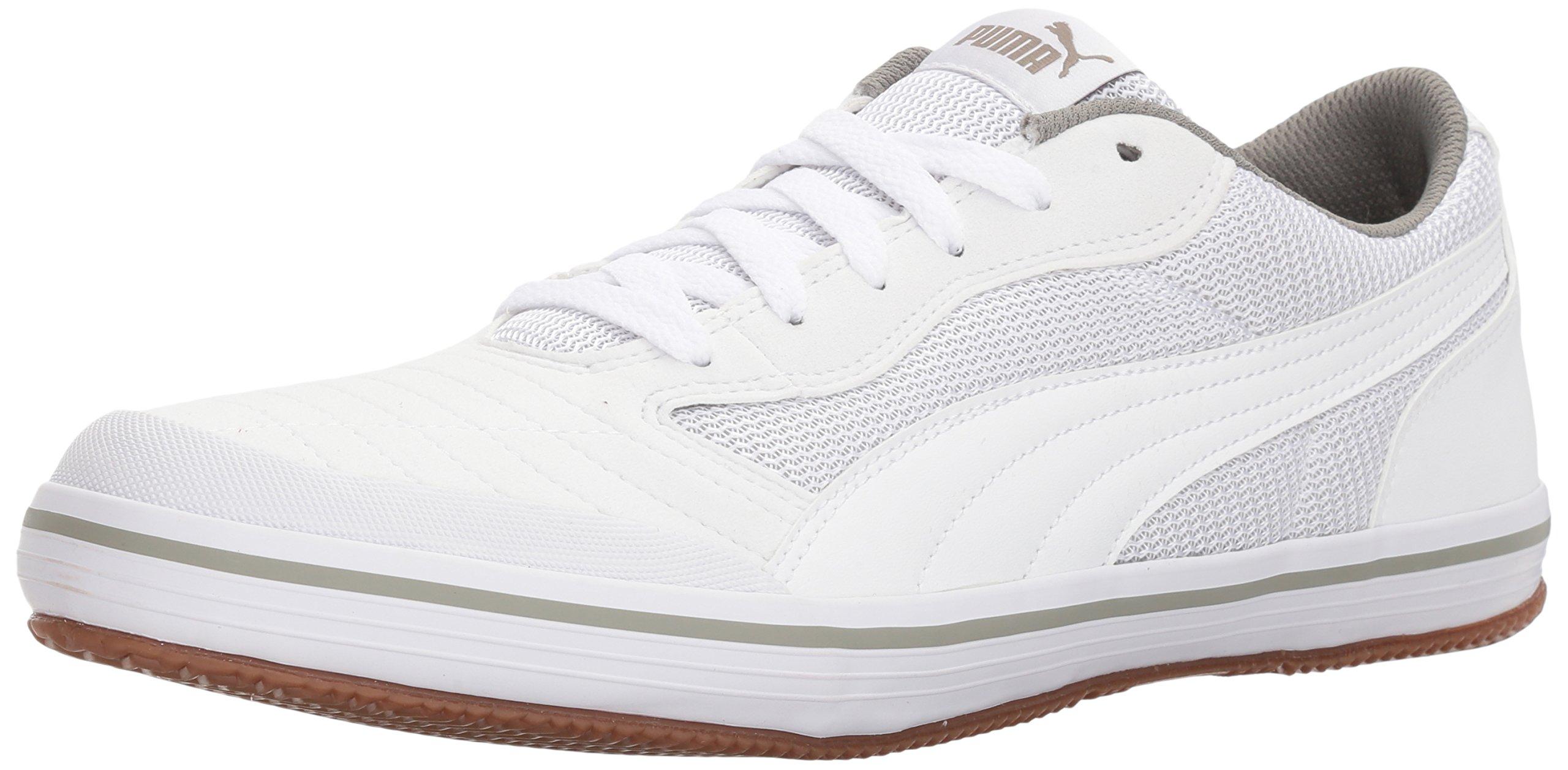 PUMA Men's Astro Sala Sneaker, White White, 10.5 M US by PUMA