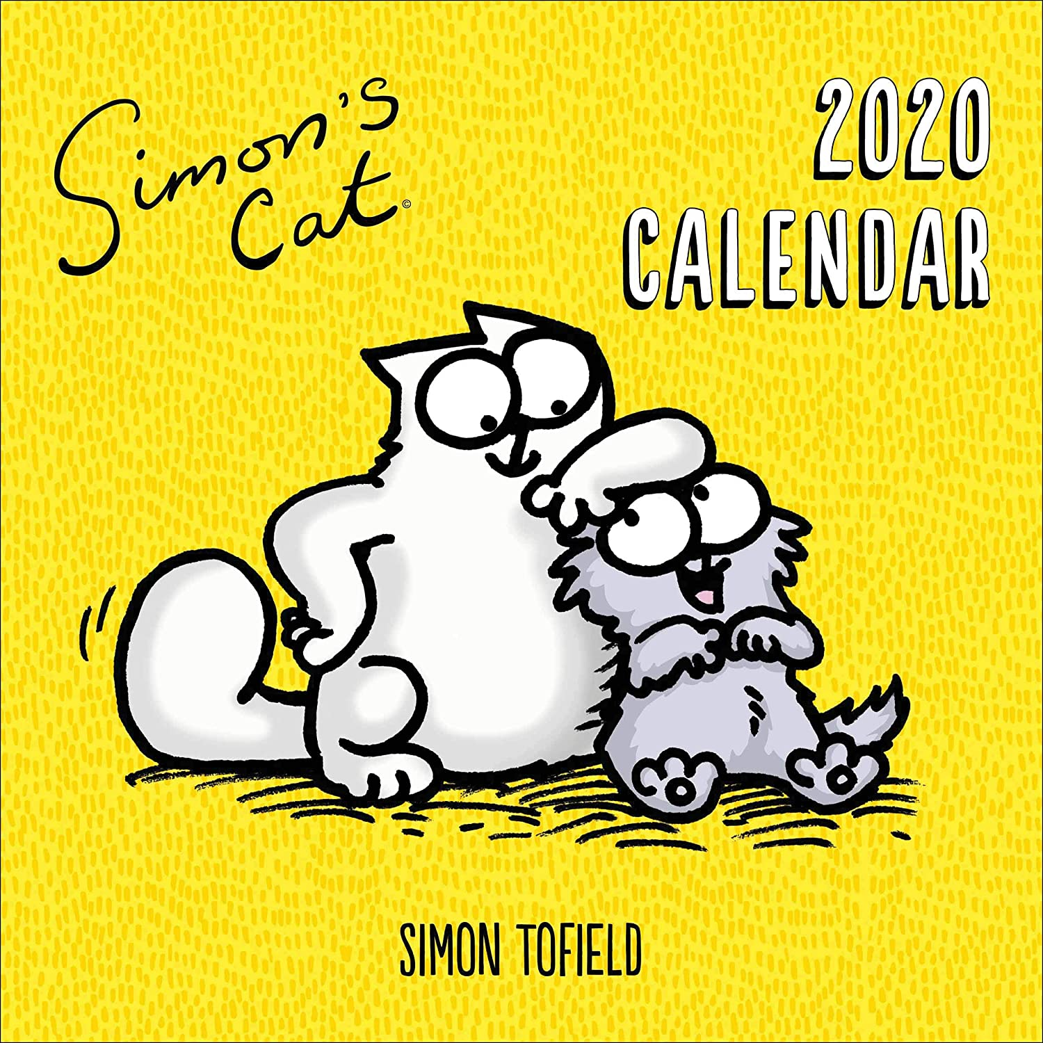 Simon's Cat Wandkalender 2020
