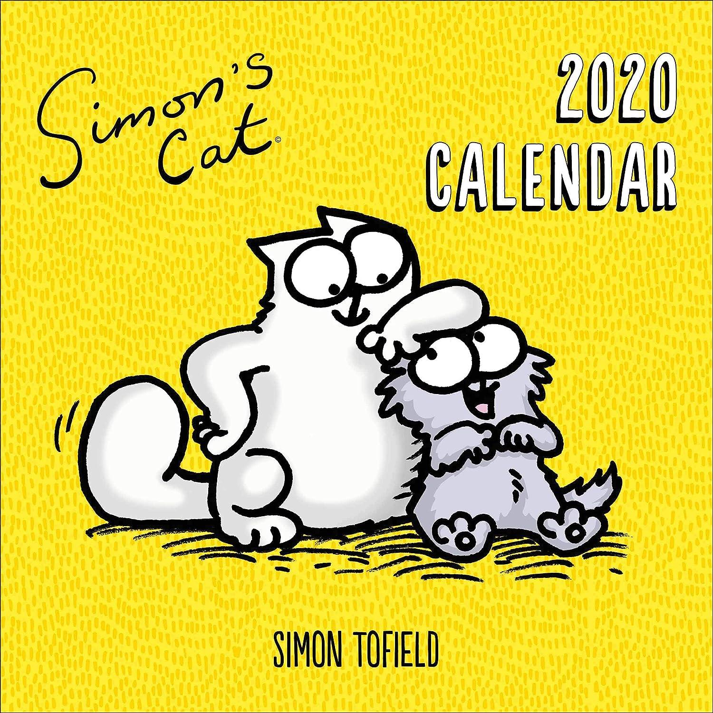 Simon's Cat Wandkalender 2020