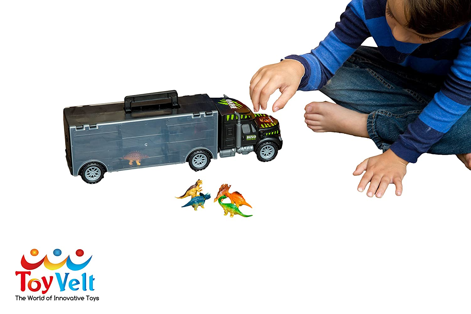 Perfect For Boys Toys Age 8 : Amazon.com: megatoybrand transport carrier car truck inside best