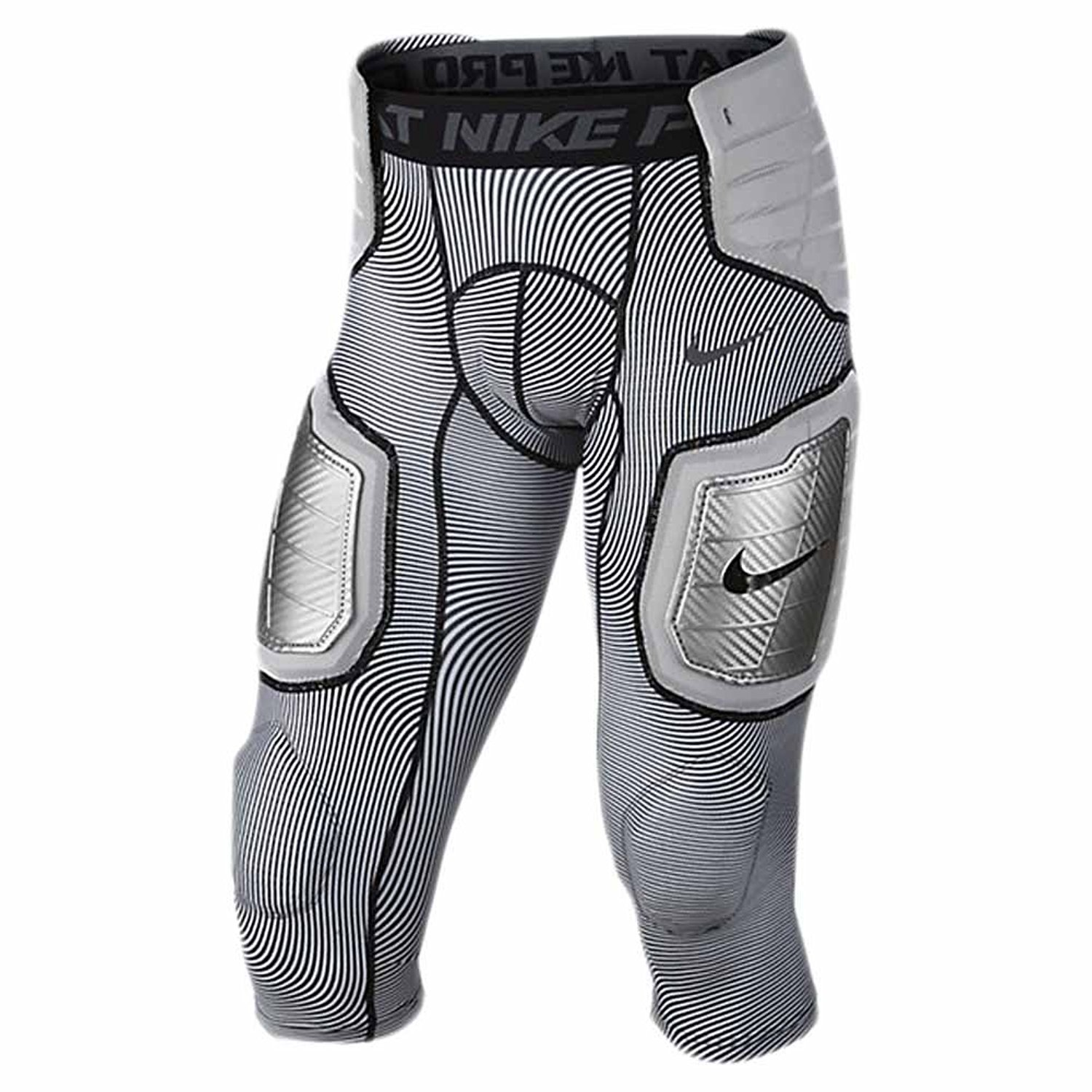 Nike Pro Mens Hyperstrong Hard Plate Three-Quarter Football Tights - Small
