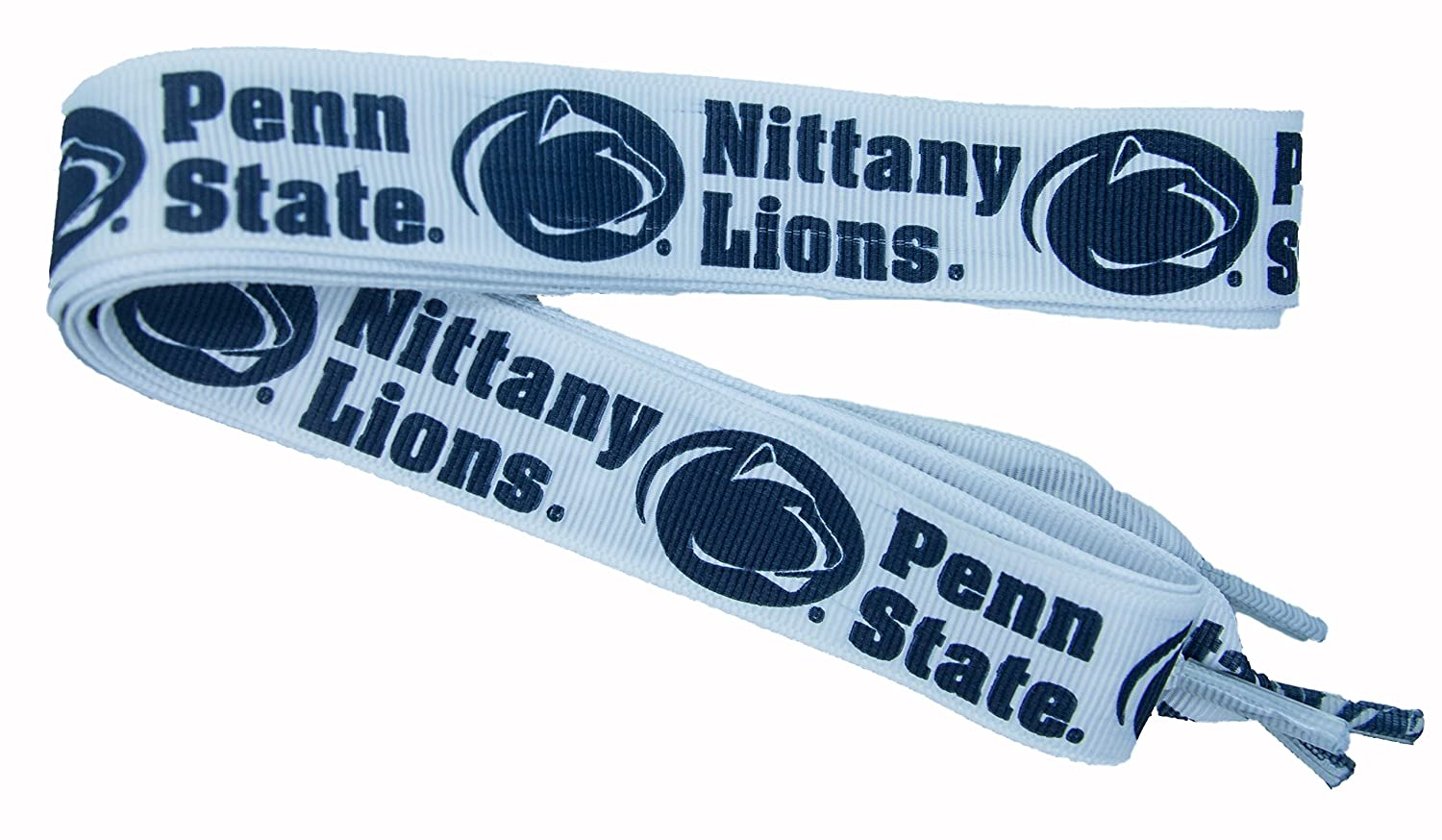 One Size Divine Creations NCAA Penn State Nittany Lions Shoelaces Navy//White