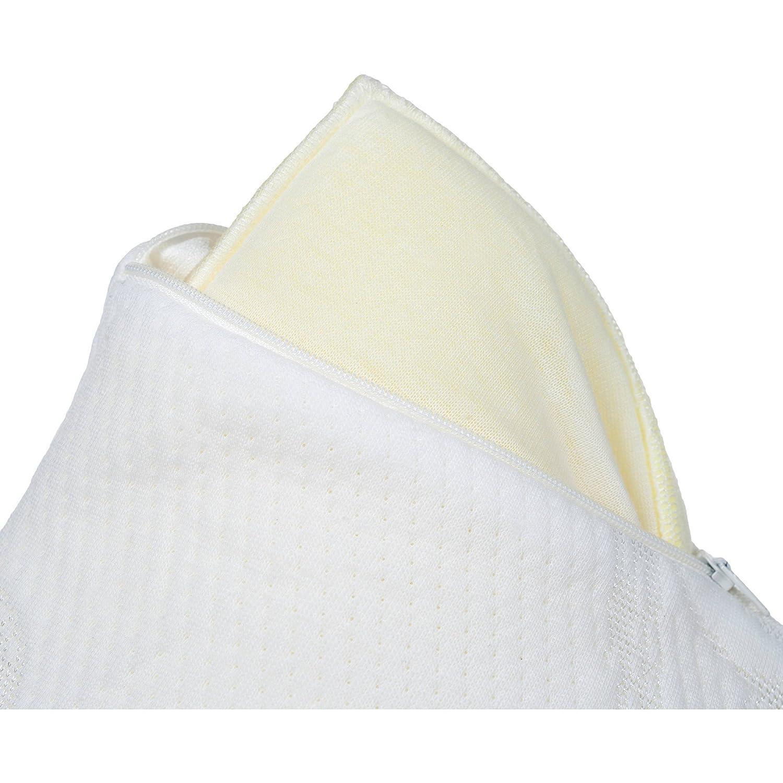 Reparación completa comodidad triturada de espuma con efecto memoria cuerpo almohada: Amazon.es: Hogar