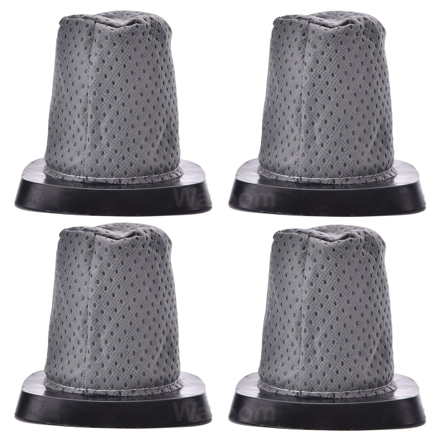 Waroom 4 Pack Replacement Dirt Devil F25 Filter, Compatible with Dirt Devil 083405 Series Swift Stick Vacuum,Part # 2SV1102000