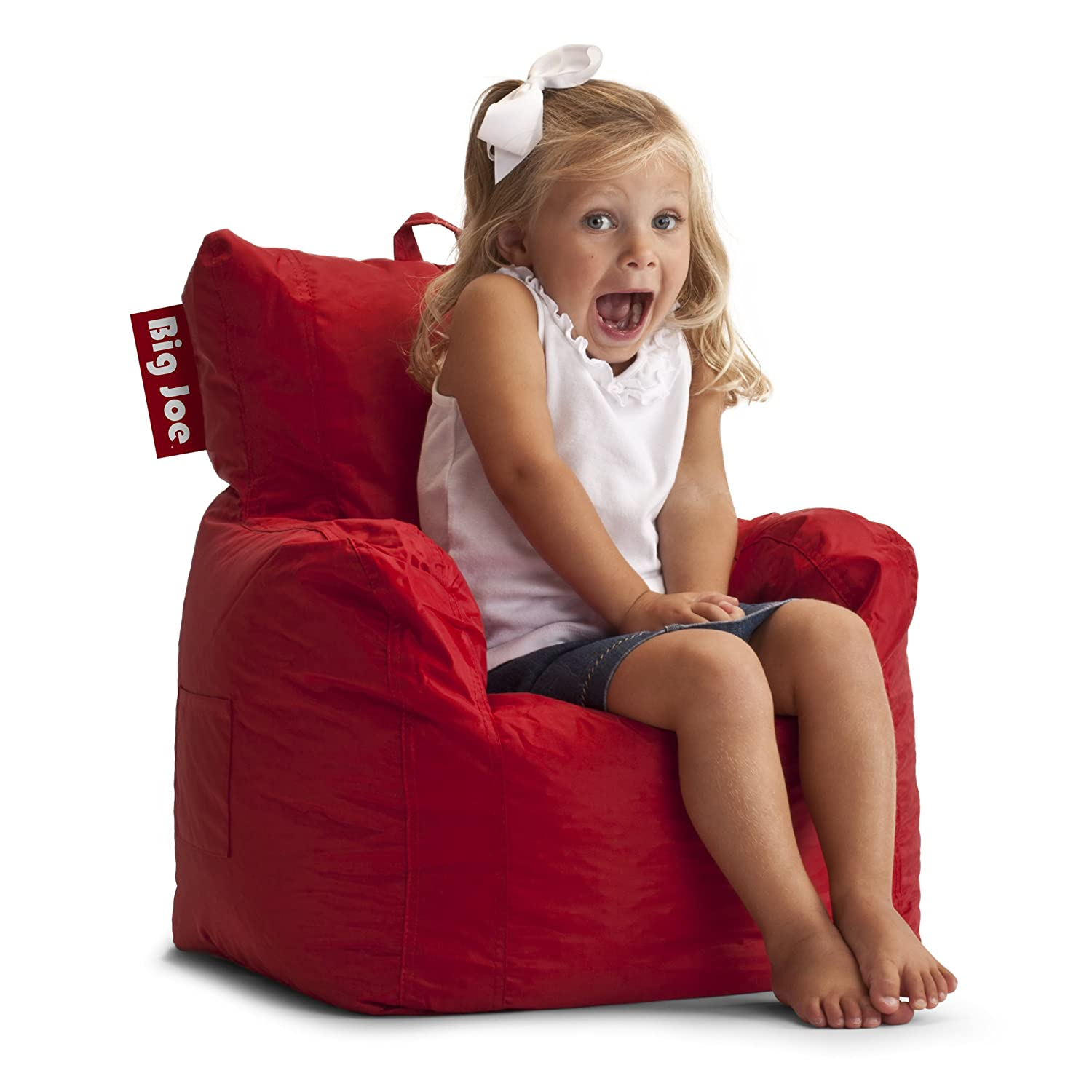Amazon Big Joe Cuddle Chair Flaming Red Kitchen Dining