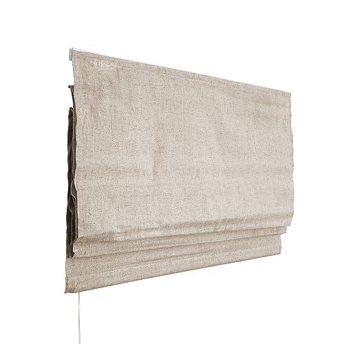VICTORIA M Estor Plegable/Cortina Plegable paqueto 140 x 240 cm, Color: Marfil