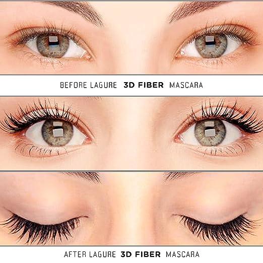 Amazon.com : 3D Fiber Lash Mascara - Free Case - Premium Fiber ...