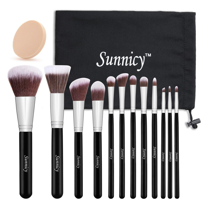 Super Kit de Pinceau maquillage Professionnel 12 PCS Ombre à Paupière  VG51