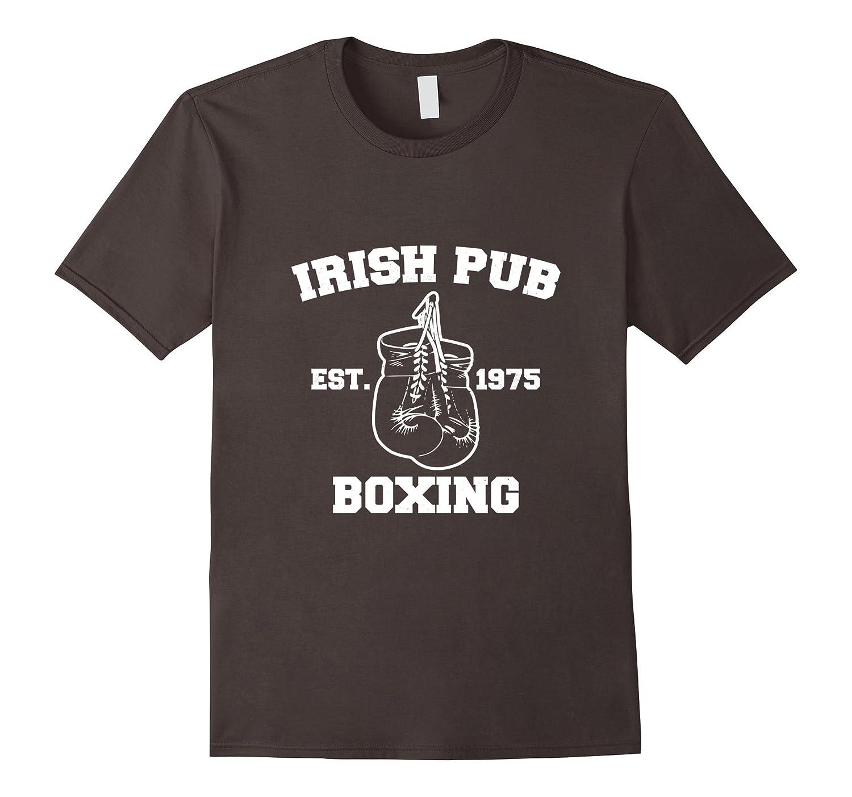 amazon com irish pub boxing t shirt clothing