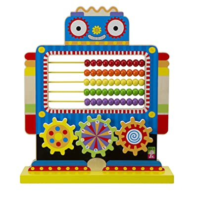 ALEX Jr. Count N Spin Abacus Robot: Toys & Games
