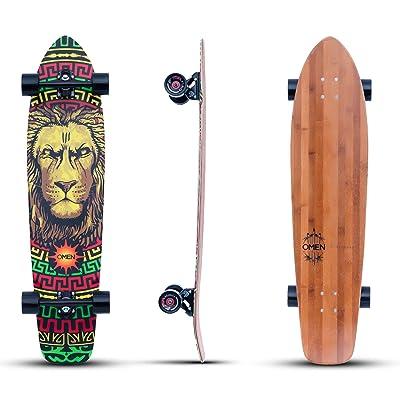 Omen Boards Surfcraft Longboard Skateboard Drop Through Series : Sports & Outdoors
