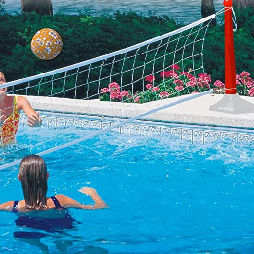 Juego de volley ball gigante para piscina Kerlis 802: Amazon.es ...