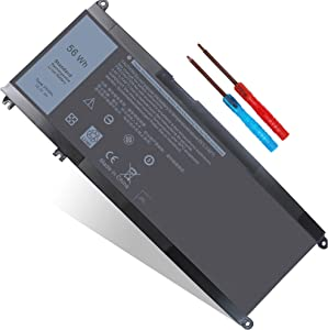 56WH 33YDH Battery Replacement for Dell Inspiron 13 7353 15 7577 17 7000 7773 7779 2in1 7786 G3 15 3579 17 3779 G5 15 5587 Latitude 13 3380 15 3580 3590 Vostro 15 7570 7580 P30E PVHT1 81PF3