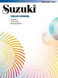 Suzuki Violin School, Vol 4: Violin Part
