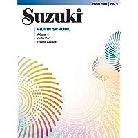 SUZUKI. VIOLIN SCHOOL VOL 4. REVISED EDITION (The