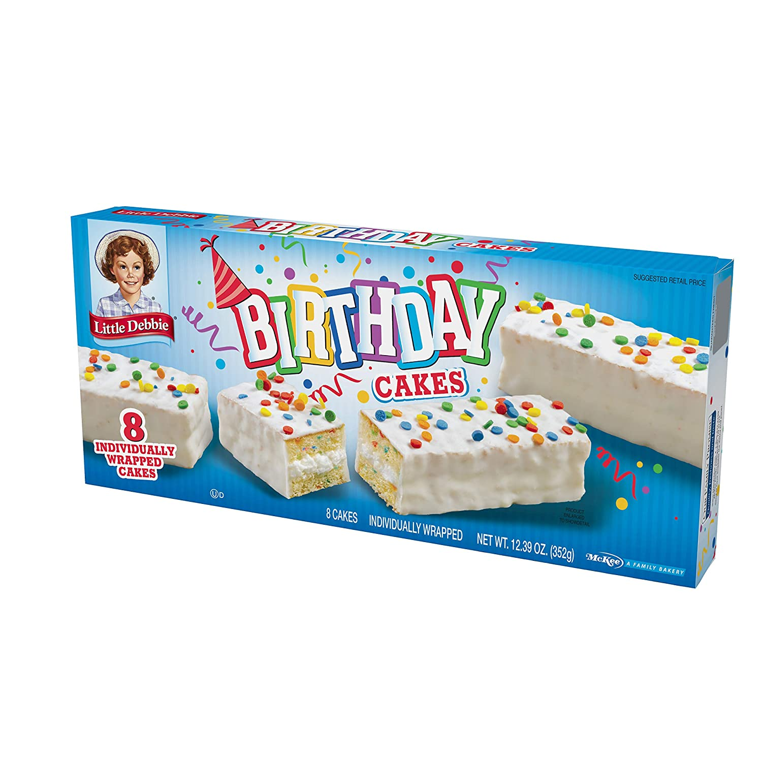 Stupendous Amazon Com Little Debbie Birthday Cakes Grocery Gourmet Food Funny Birthday Cards Online Eattedamsfinfo