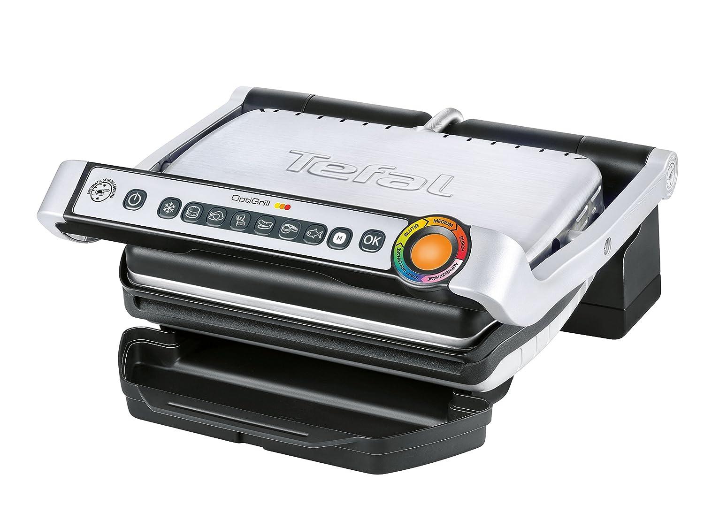 kontaktgrill mit grillprogrammen von tefal