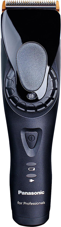 Panasonic ER-GP80-K - Cortapelos profesional inalámbrico, color negro, ac / batería