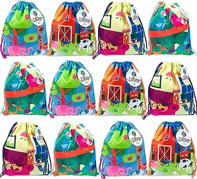 Pack 12 Bolsas de Cuerdas Infantil Saco pequeño de Cuerdas Bolsas ...