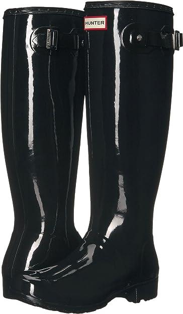 e51fe9957fe7 Hunter Women s Original Tour Gloss Black Boot
