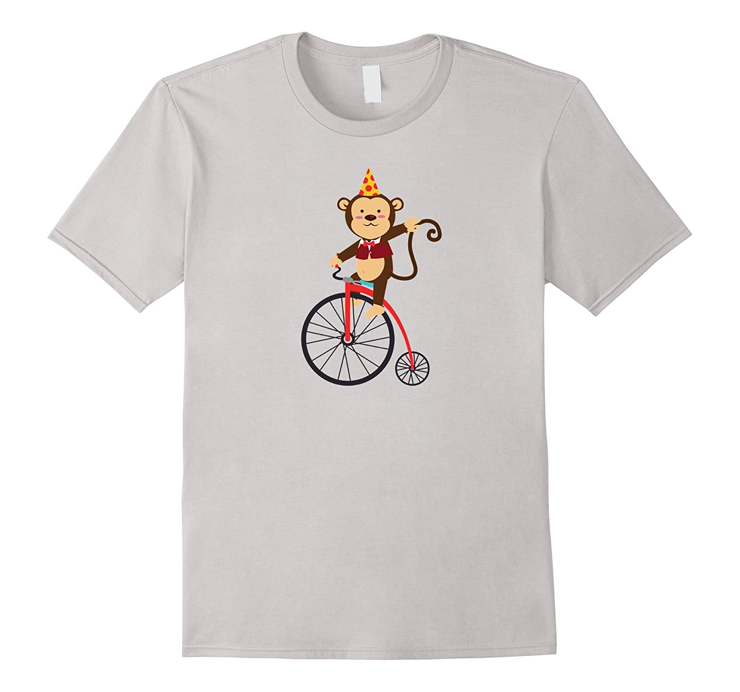Cute Birthday Monkey Circus Shirt For Kids And Adults Gm