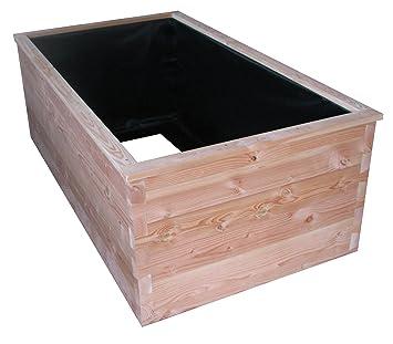 Theimer Hochbeet 2qm Gross Aus Massivem 55mm Douglasien Holz Mit