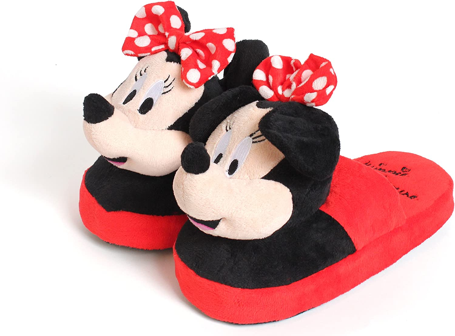 Disney Stompeez - Zapatillas de estar por casa - Diseño Minnie Mouse - S