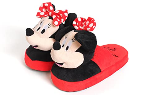 hot sale online 259bf 5f24a High Street TV - Ciabatte in peluche della Disney con Minnie ...