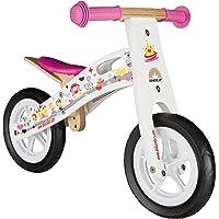 BIKESTAR Vélo Draisienne Enfants en Bois pour Garcons et Filles de 2-3 Ans ★ Vélo sans pédales évolutive 10 Pouces ★