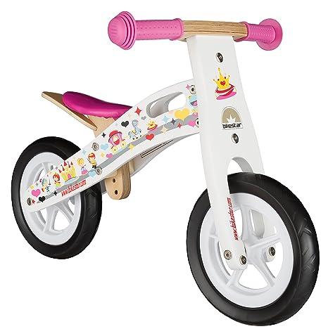 Bikestar Bicicletta Senza Pedali In Legno 2 3 Anni Per Bambino Et Bambina Bici Senza Pedali Bambini 10 Pollici